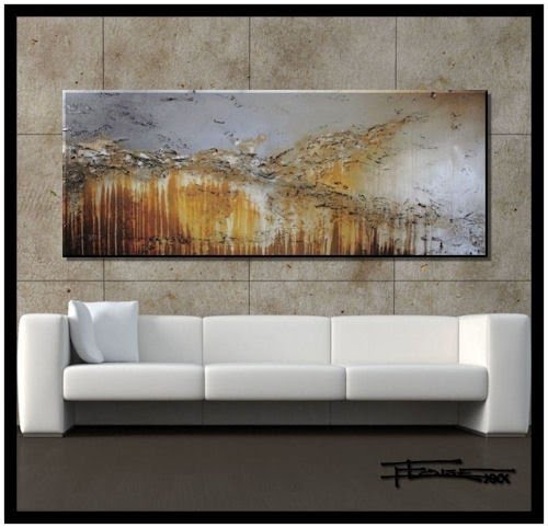 Extra Large Modern Abstract Canvas Wall Art. Limited Edition, Hand  Embellished Giclee On Canvas