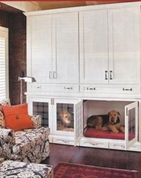 Fancy dog crates furniture
