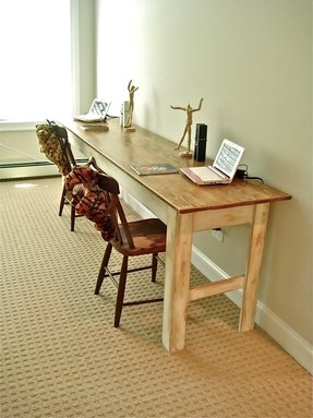 Farmhouse Console Table - Foter