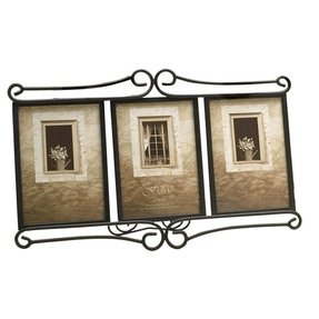 Fetco home decor tuscan alton triple picture frame