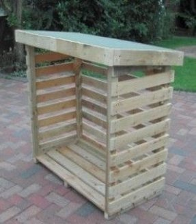 Outdoor Storage Box Wood Foter