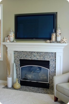 Fireplace Tv Stands For Flat Screens Ideas On Foter