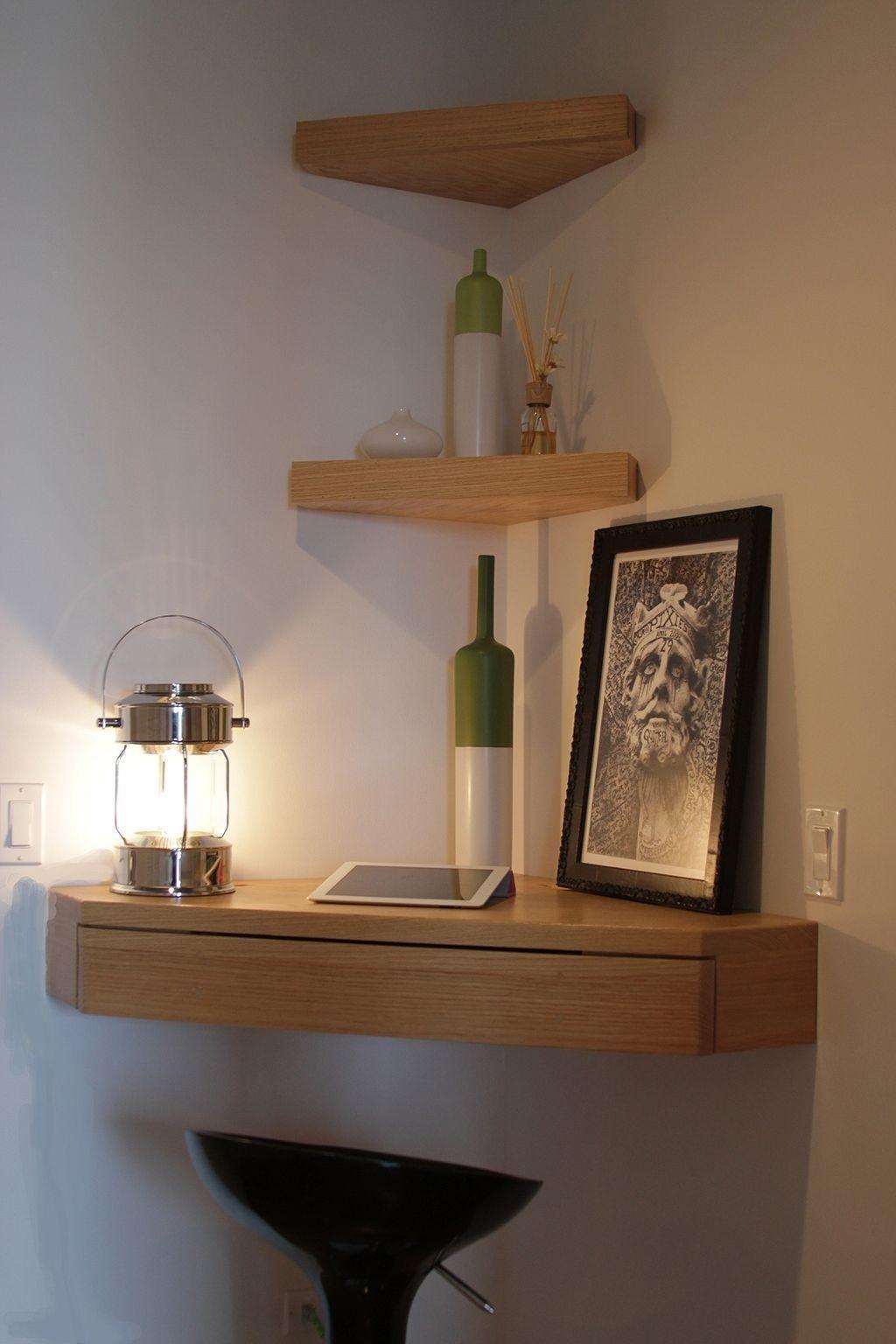 Corner Floating Shelves Ideas On Foter