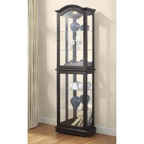 Well-known Corner Curio Cabinets For Sale - Foter WJ54