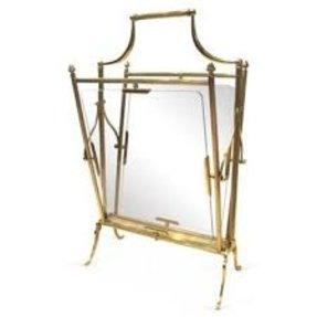 Glass magazine rack 2