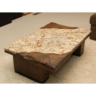 Granite Top Coffee Table 4