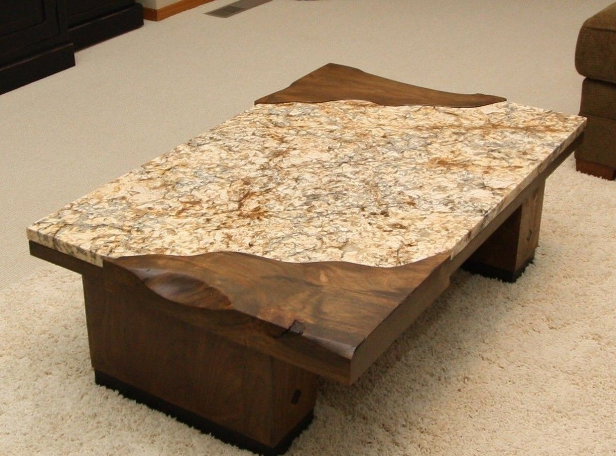 Bon Granite Top Coffee Table 4