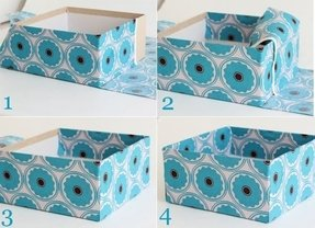 How to make a storage box