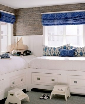 King size captains bed with 12 drawers