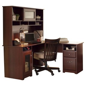 L shaped computer desk with storage 2