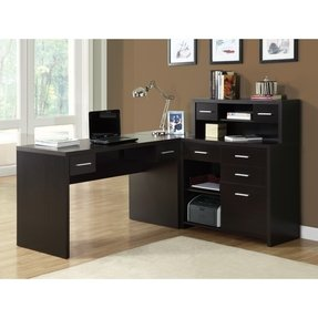 L shaped computer desk with storage 5