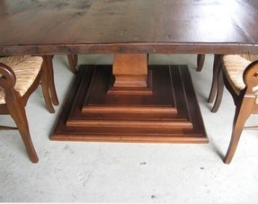 Terrific Square Pedestal Dining Table Ideas On Foter Interior Design Ideas Gresisoteloinfo