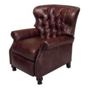 Leather Recliner With Nailhead Trim Foter