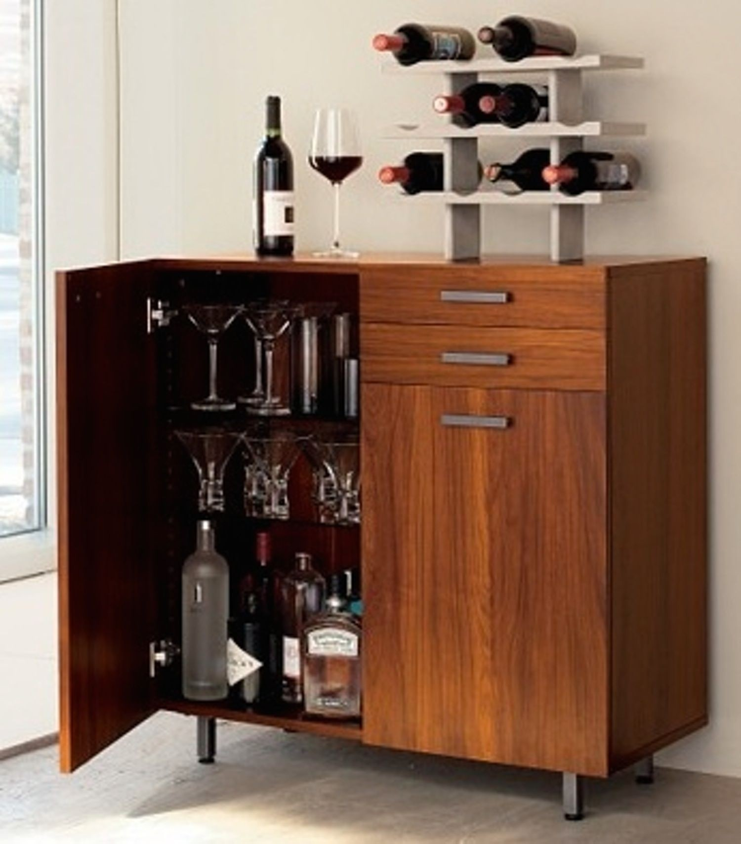 Ordinaire Living Room Bar Cabinet 1