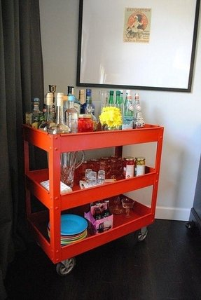 Metal bar cart 18