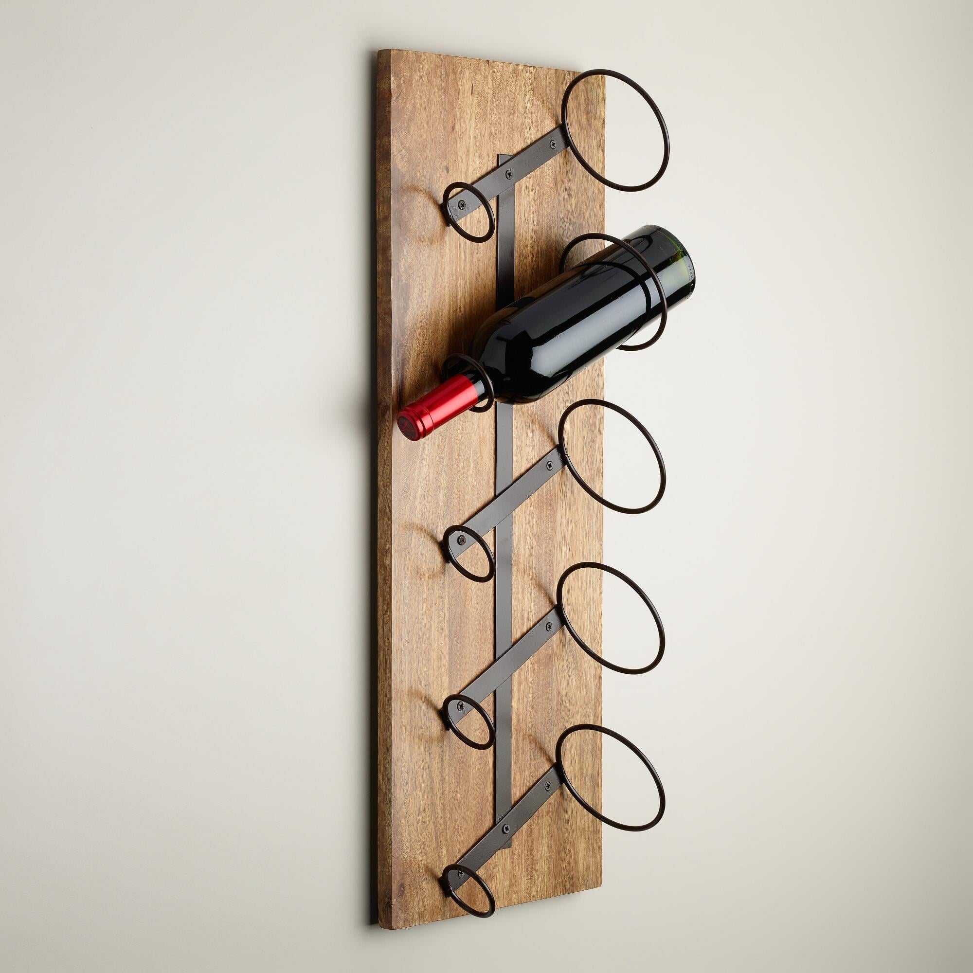 Metal Wall Wine Rack Bottle Holder Ideas On Foter