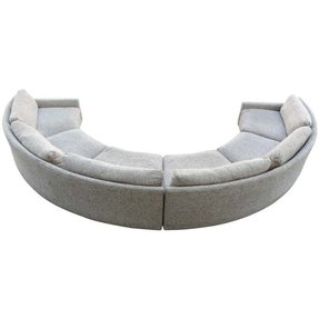 Milo baughman semi circular party sofa 1