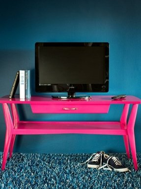 Natural wood tv stands 5