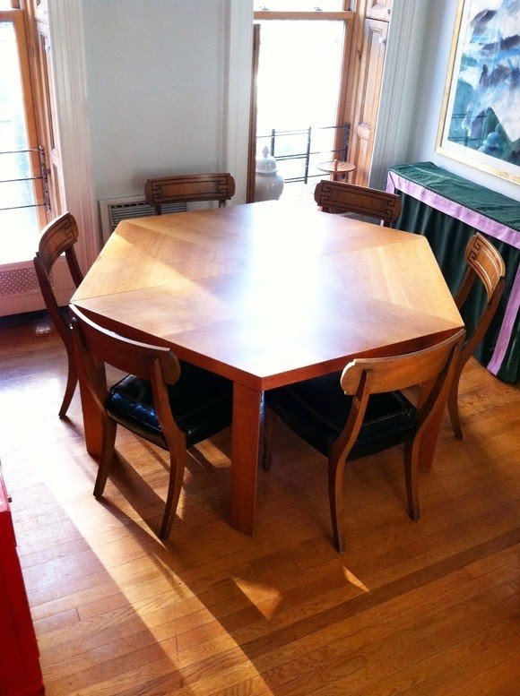 Octagon Dining Room Table Amazing Design