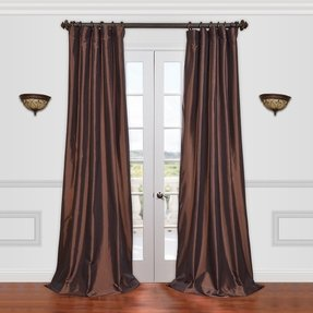 Image result for deep blue curtains