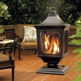 Outdoor fire lamps 12