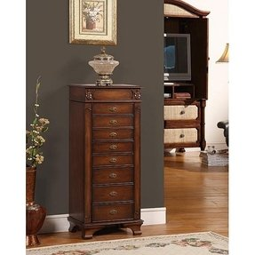 Pottery barn jewelry armoire