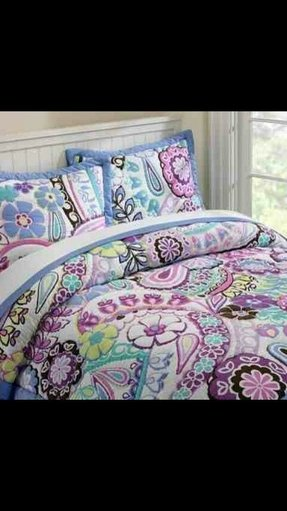 Blue Green Paisley Bedding Foter