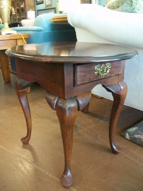 Queen Anne End Tables Cherry