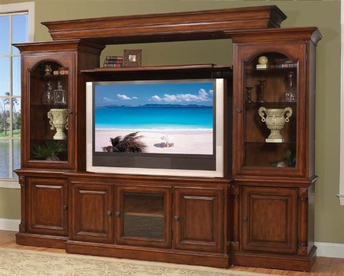 Rattan And Wicker Tv Cabinets Tv Armoires Etegeres Tropical Display