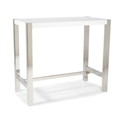Rectangular bar height table