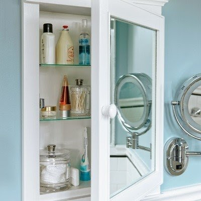 Shallow Medicine Cabinet