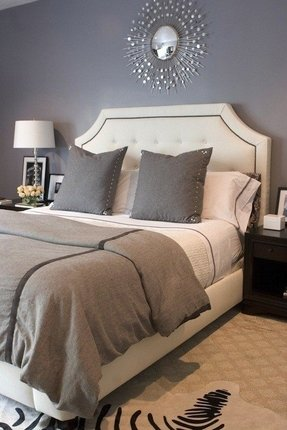 Sunburst Mirror Bedroom Design Ideas