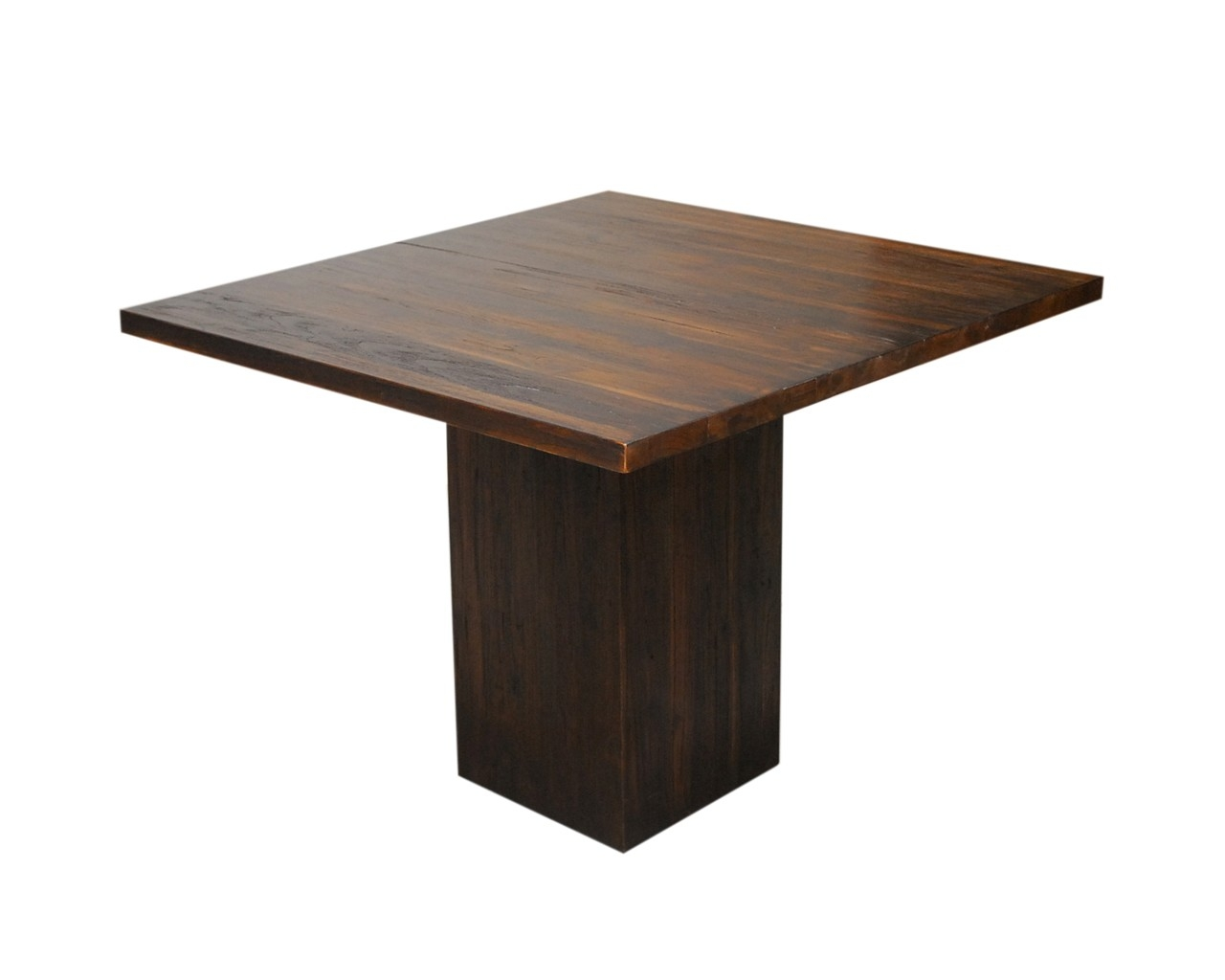Square Pedestal Dining Table 2