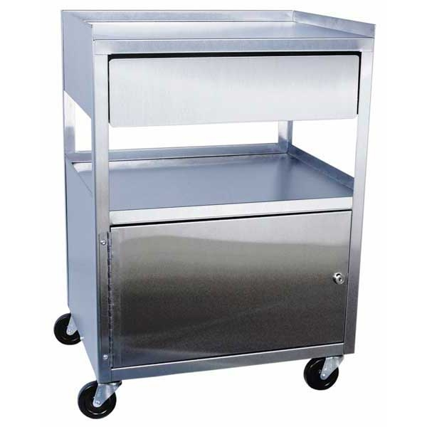Stainless Steel Cart On Wheels