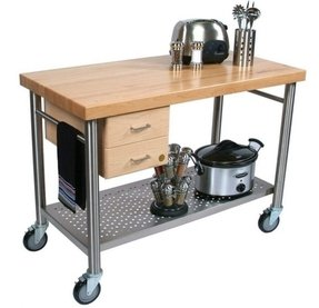 Stainless Steel Carts With Drawers