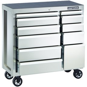 Stainless steel carts with drawers 8