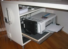 Computer Printer Table Foter