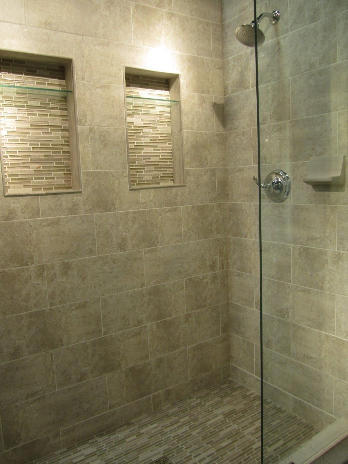 Amazing The Tile Shop Travertine Shower With Stria Boxes