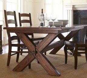 Cross Leg Table Foter