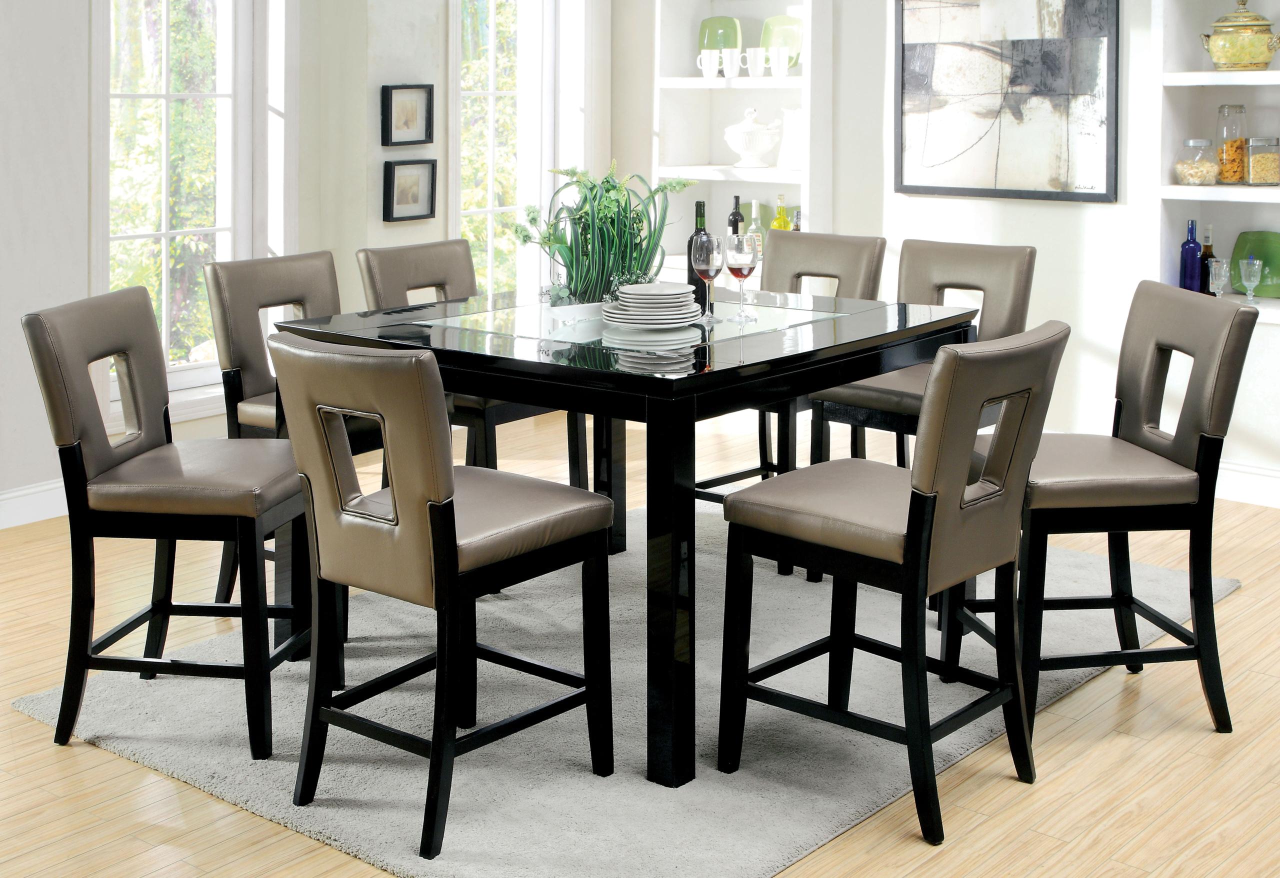 Perfect Vanderbilte 9 Piece Counter Height Dining Set