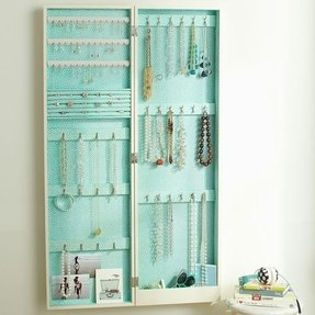 Wall Hanging Mirror Jewelry Box Foter