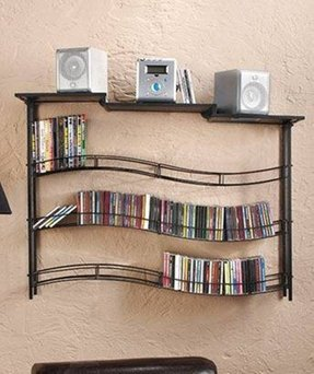 Wall mount cd storage 1