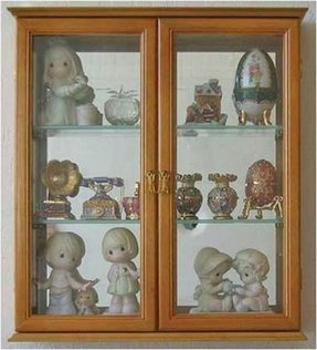 Small wall curio cabinet foter wall mounted curio cabinet decorative shadow box display case with glass door solid wood planetlyrics Gallery