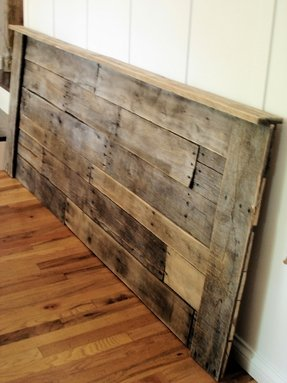 White Wood Headboard Foter