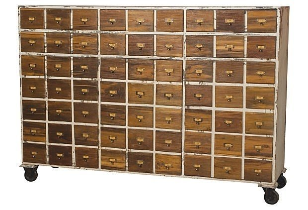Wooden cd storage drawers  sc 1 st  Foter & Apothecary Cd Storage - Foter