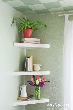 Groovy Wooden Corner Shelves Ideas On Foter Download Free Architecture Designs Itiscsunscenecom