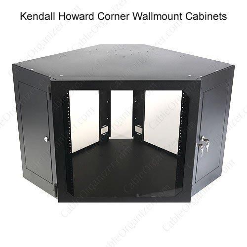Awesome 12U Corner Wallmount Cabinet