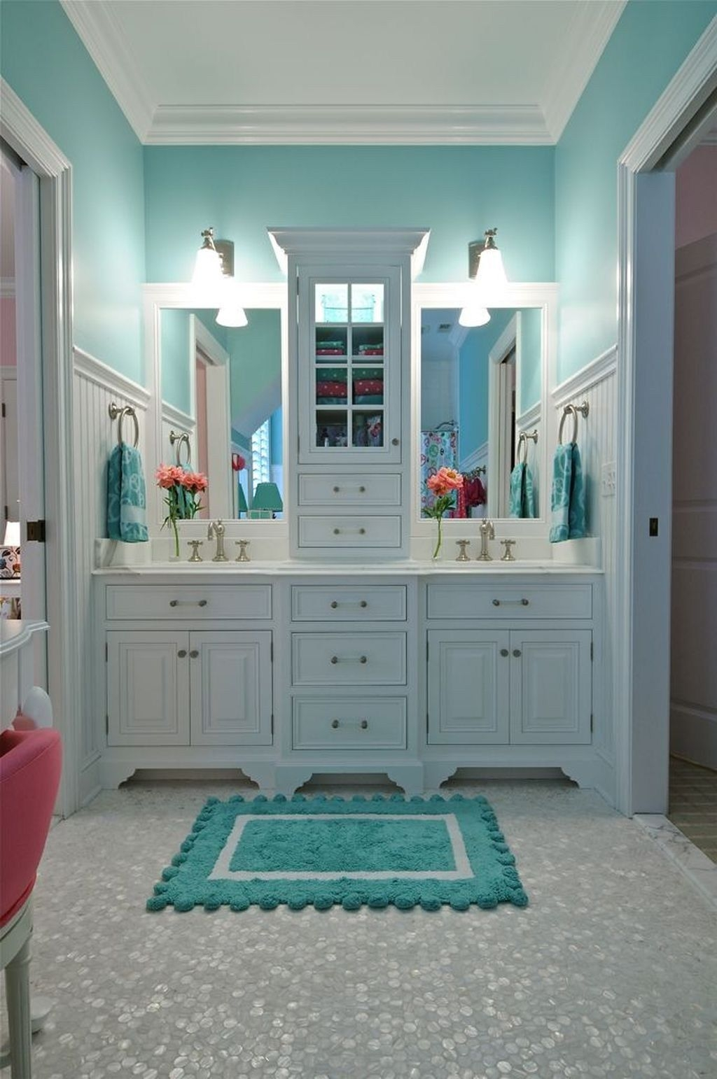 36 Cool Turquoise Home Decor Ideas Digsdigs 1