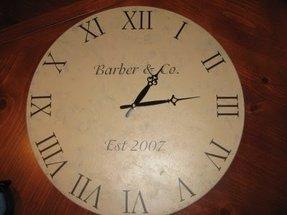 Big Round Wall Clocks Foter
