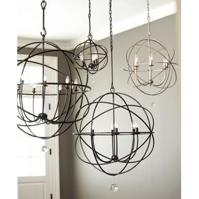 Abstract Lighting Fixtures With Light